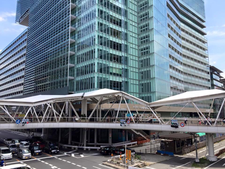 2016年の近鉄阿部野橋駅前