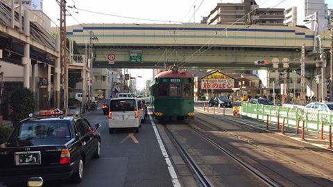 2015年12月26日に阪堺電車にて日本現役最古の『モ161号車(復元車)』が終日運行しました。